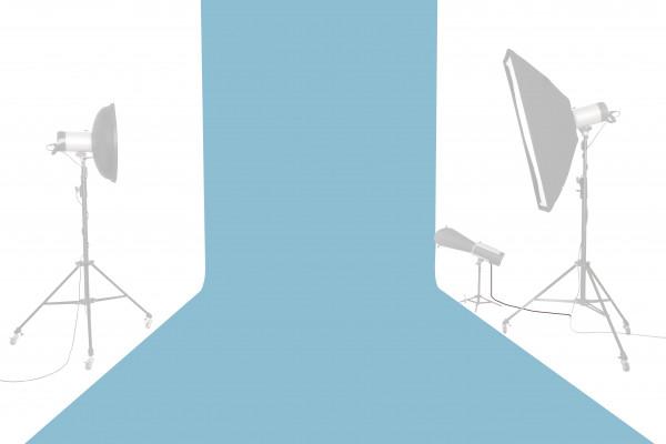 Tetenal Hintergrundkarton 1,35x11m, True Blue