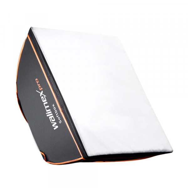 walimex pro Softbox Orange Line 40x40 B-Ware