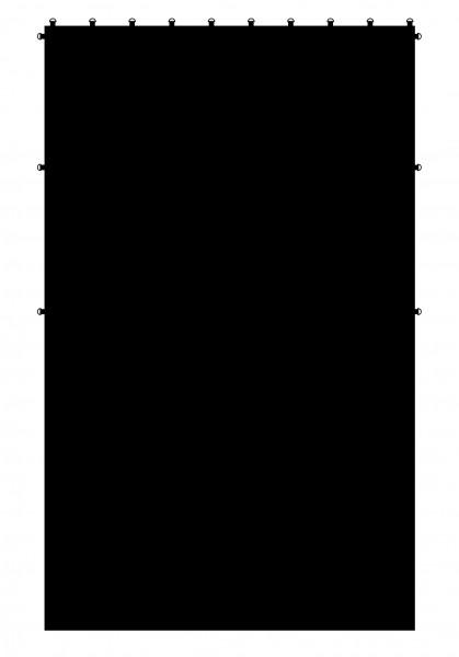 Sunbounce CAGE INFINITY-CLOTH MOLTON/DUVETYNE BLACK/ BLACK schafft eine Hohlkehle wie im Studio