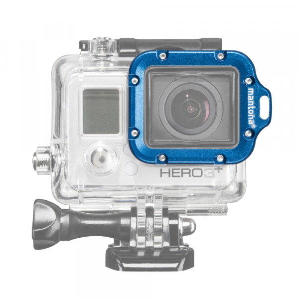 Mantona Linsenring blau für GoPro Hero 3