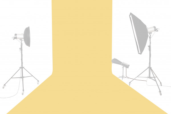 Tetenal Hintergrundkarton 1,35x11m, Sand