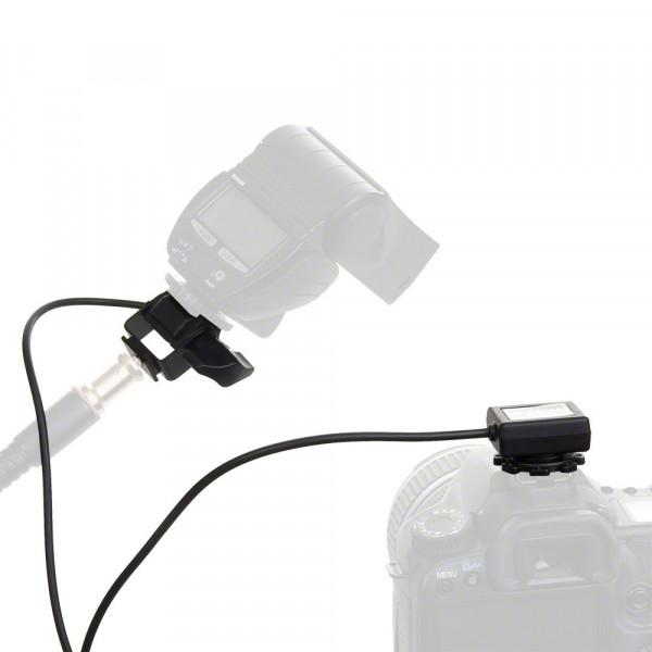 Walimex XL Blitzkabel Nikon i-TTL,1/4 Zoll, 5m