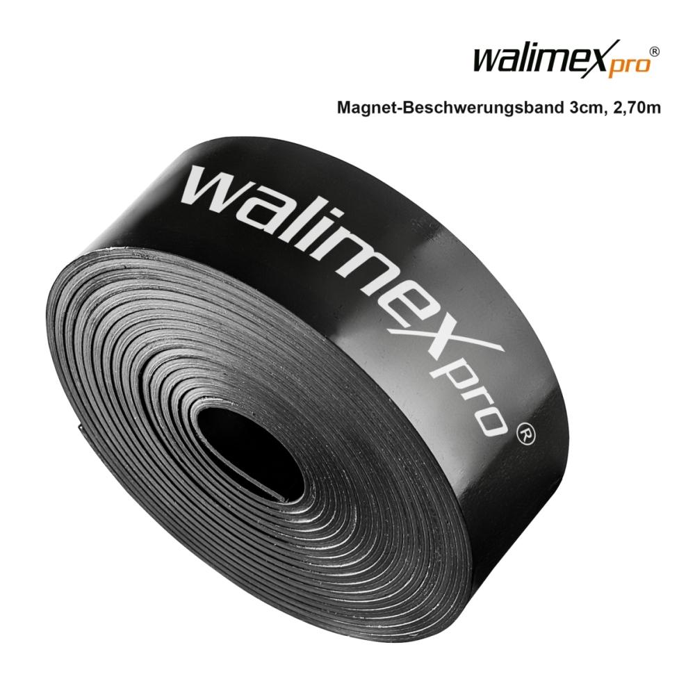 Walimex pro imán-beschwerungsband 3cm 2,7m by Studio-ausruestung.de