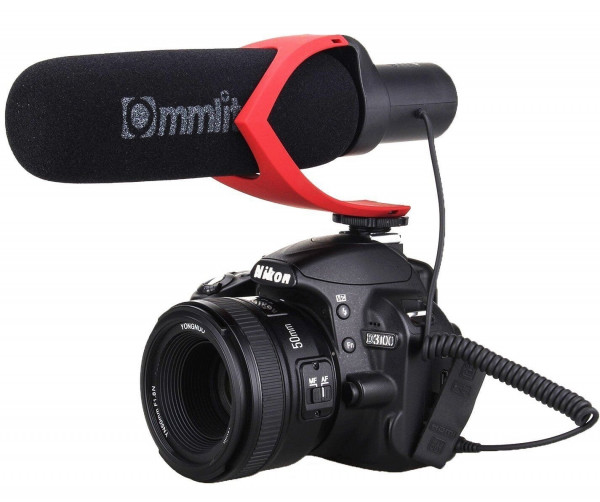 Comica CVM-V30 Schrotflinten Mikrofon für DSLR Kameras