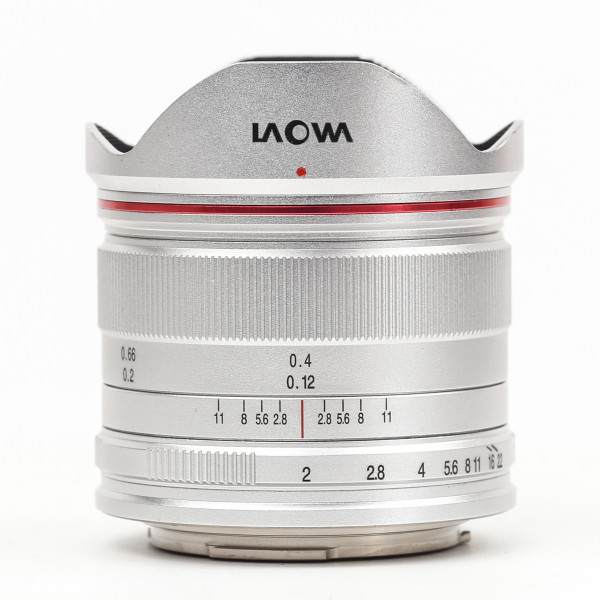 LAOWA 7,5mm f/2,0 drone Objektiv für MFT, silber