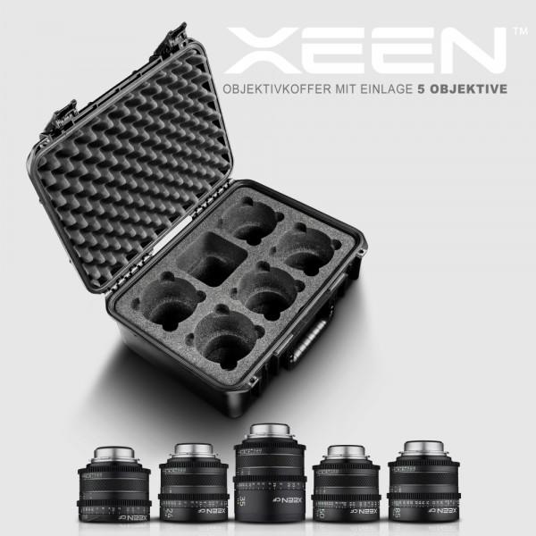 XEEN CF Komplett Objektiv-Set 5x Canon EF mit Koffer