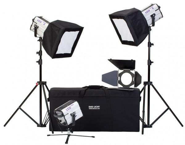 HEDLER Profilux LED 1000x Portrait Kit (fokusierbar, dimmbar)