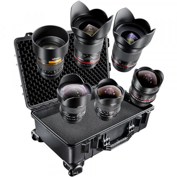 walimex pro Objektiv Set All Star II f. Nikon F AE