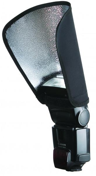 aurora Portaflex Reflektor, schwarz/silber, 19 x 25 cm (SBF-B)
