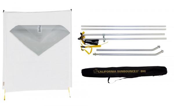 Sunbounce SUN-SWATTER KIT DIFFUSOR -1/5 neutral - Struktur: -1/5 Blendenverlust, reduziert den Kontrast minimal