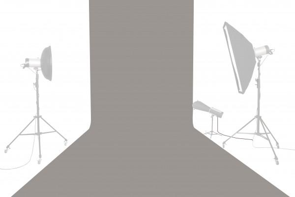 Tetenal Hintergrundkarton 1,35x11m, Storm Gray