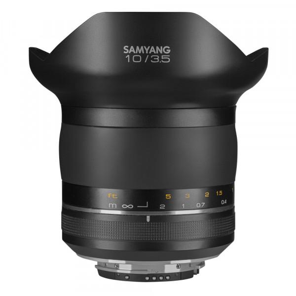 Samyang XP 10mm F3.5 Nikon F Premium MF Objektiv