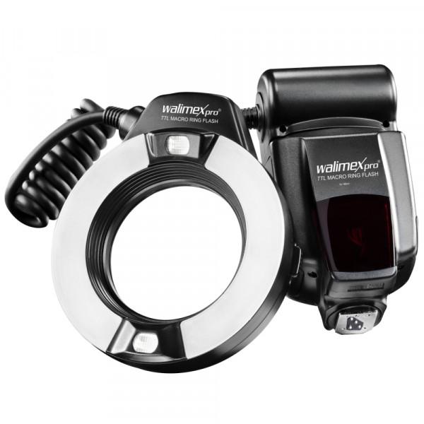 Walimex pro TTL Makro Ringblitz für Nikon