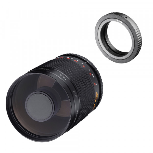 Samyang MF 500mm F8,0 DSLR Spiegel Pentax K