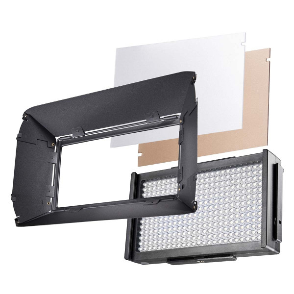walimex pro LED Foto Video Square 312 Daylight