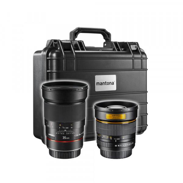 walimex pro Reportage Set Canon EF