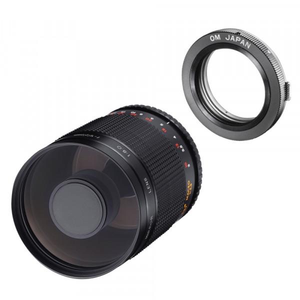 Samyang MF 500mm F8,0 DSLR Spiegel Olympus OM