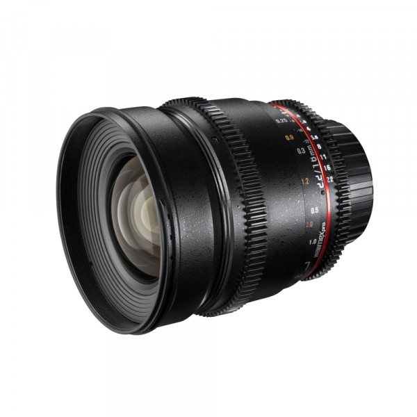Walimex pro 16/2,2 Video APS-C Canon M