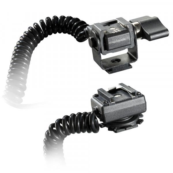 Walimex Spiral-Blitzkabel Olympus/Panasonic TTL,2m
