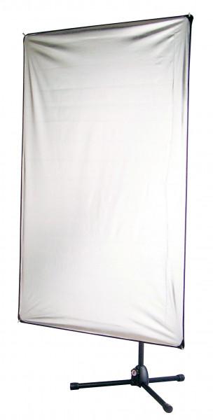aurora Lite Panel Set 100 x 180 cm, Silber/Weiß (LP 1018)