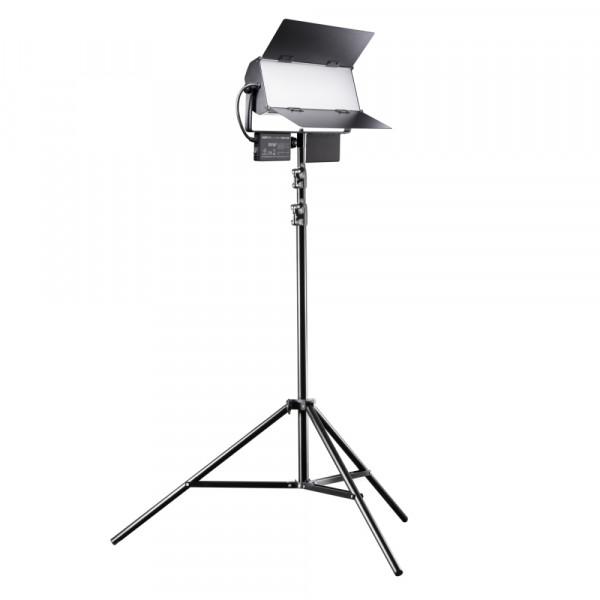 Walimex pro LED Sirius 160 Daylight 65W - Set inkl. Stativ 2,6m