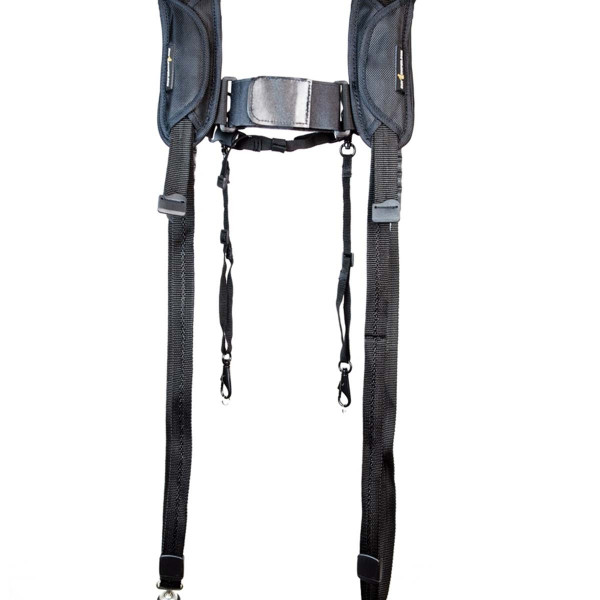 "SNIPER-STRAP THE ""ROTABALL-DPH"" DOUBLE-PLUS-HARNESS mit ROTABALL Konnektor - schwarz -"
