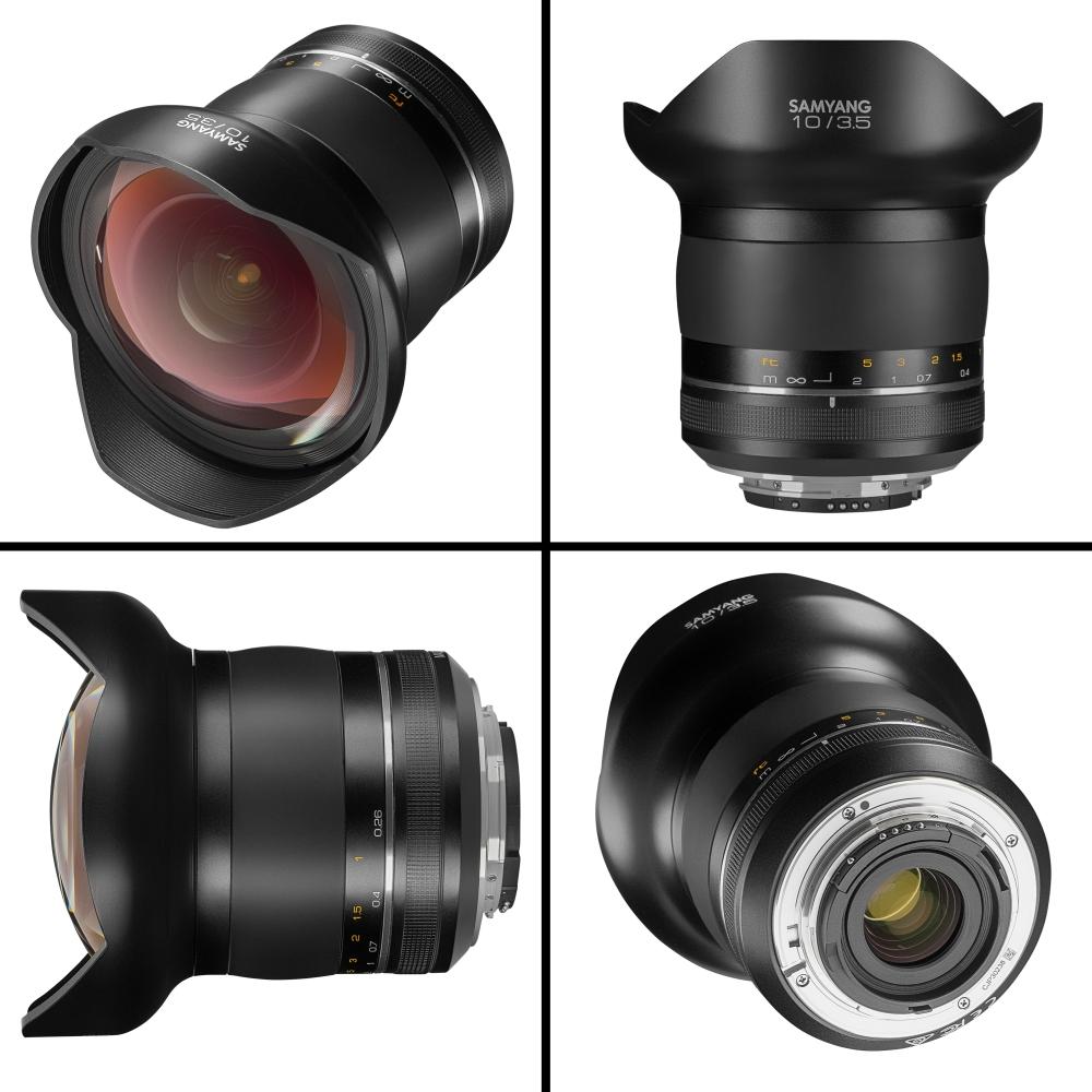 【BUY】Samyang 10mm T3.1 ED AS NCS CS VDSLR Lens for Canon