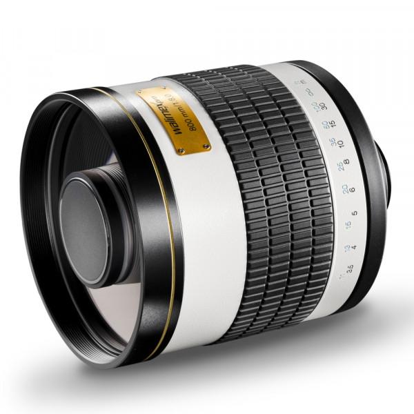 Walimex pro 800/8,0 DSLR Spiegel Canon EF