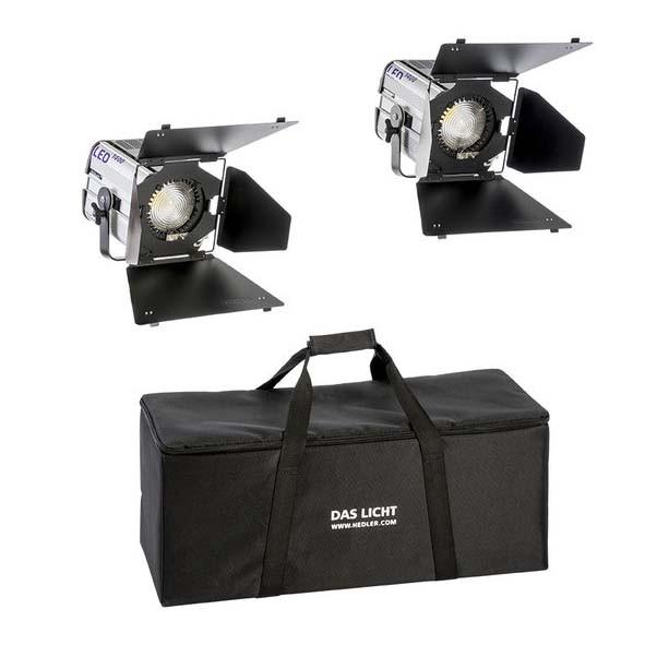 HEDLER Profilux LED 1400 Twin Kit (fokusierbar, dimmbar)
