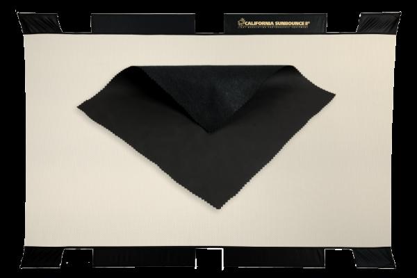 Sunbounce SUN-BOUNCER 2-in-1 REFLECTOR BLACK-HOLE neutral - Struktur: flauschig Schwarz - Rückseite Schwarz matt