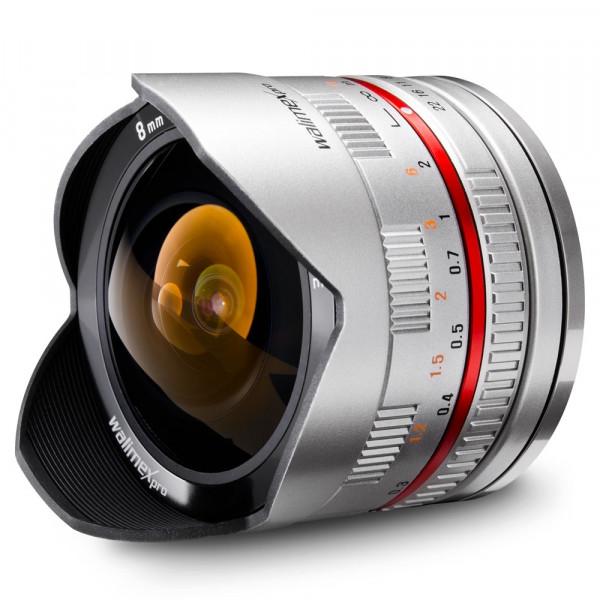Walimex pro 8/2,8 Fisheye I APS-C Samsung NX silbe