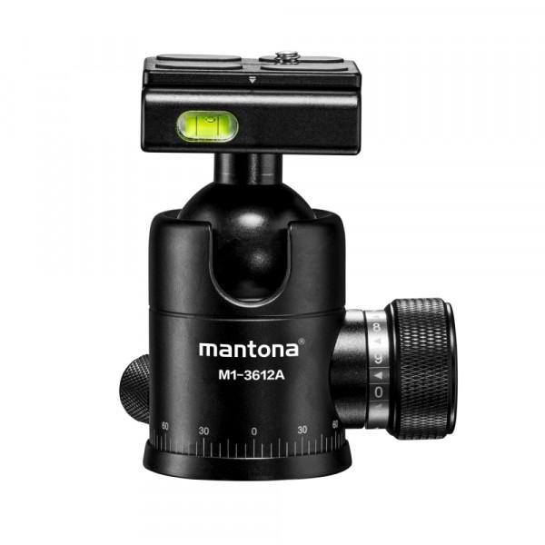Mantona Onyx 12 Kugelkopf (M1-3612A)