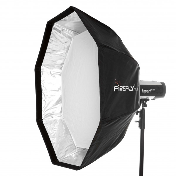 aurora Firefly XL 120 Falt-Softbox Ø 120 cm für Visatec + Broncolor Impact