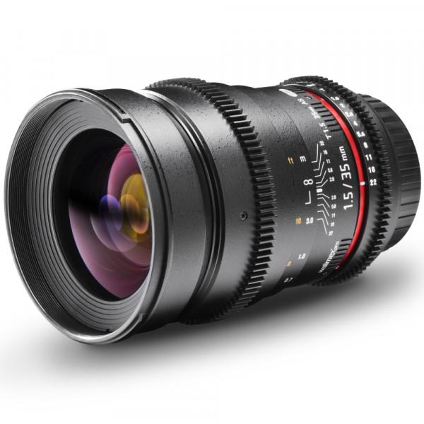 Walimex pro 35/1,5 Video DSLR Nikon F