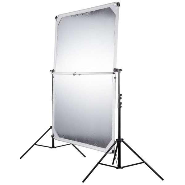 Walimex pro 4in1 Reflektorsegel-Set 150x200cm 5tlg