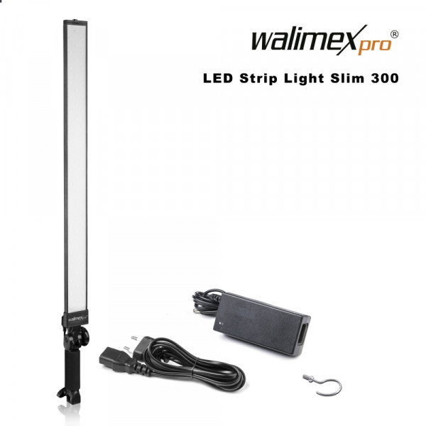 Walimex pro LED Strip Light Slim 300 Daylight 30W