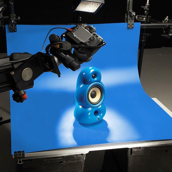 Colorama Colormatt - Hintergrund Electric Blue