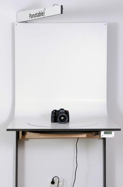 360 Grad Aufnahmetisch Panotable XL