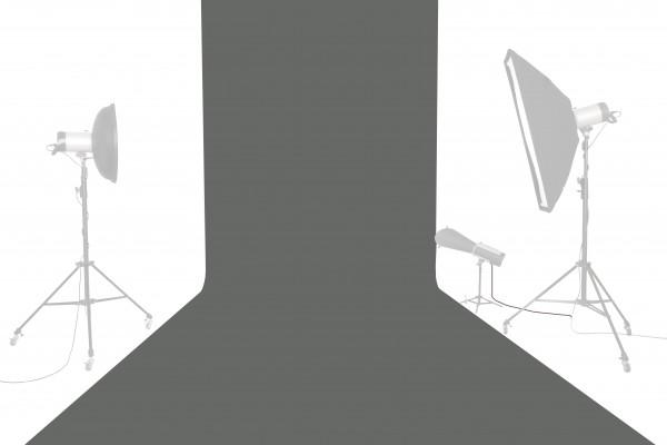 Tetenal Hintergrundkarton 1,35x11m, Thunder Gray
