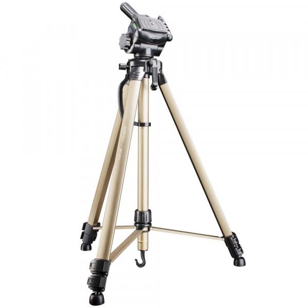 Walimex pro WT-3530 Basic-Stativ mit 3D-Neiger 146cm bronze