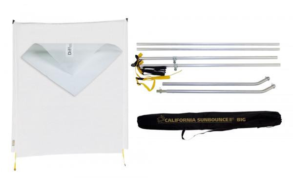 Sunbounce SUN-SWATTER KIT DIFFUSOR -1/3 neutral - Struktur: -1/3 Blendenverlust, reduziert den Licht/Schattenkontrast nur leicht