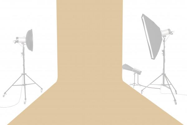 Tetenal Hintergrundkarton 1,35x11m, Almond