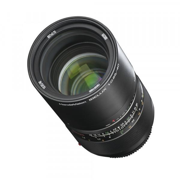 Ibelux 40/0,85 Fuji X + Neopren Objektivbeutel