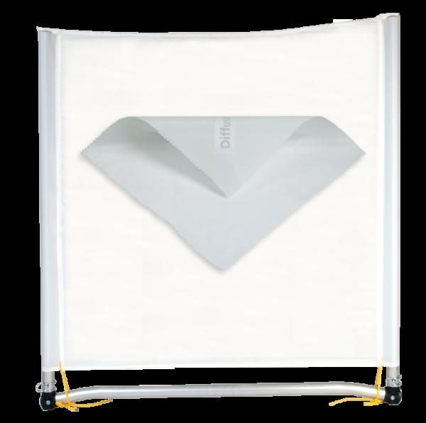 Sunbounce SUN-SWATTER DIFFUSOR -2/3 neutral -Struktur: Diffusor -2/3rd Blendenverlust, reduziert den Kontrast stark
