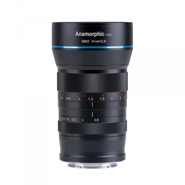 SIRUI SR24 24mm f2.8 Anamorphes Objektiv 1.33x für MFT Mount