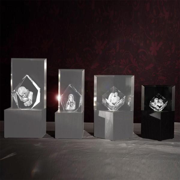Leuchtstele für 3D Laser Viamantglas Illuminato Precious