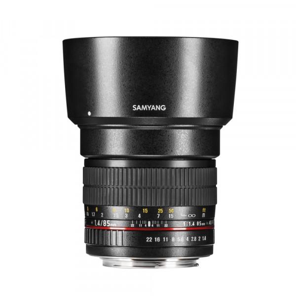 Samyang MF 85mm F1,4 AS IF UMC Nikon F AE