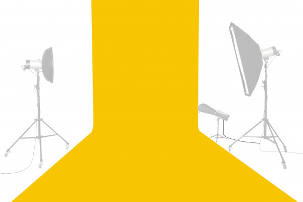 Tetenal (Savage) Hintergrundkarton 2,72x11m, Deep Yellow