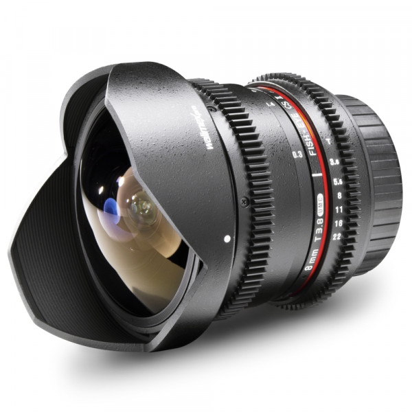 Walimex pro 8/3,8 Fisheye II Video APS-C Canon EFS