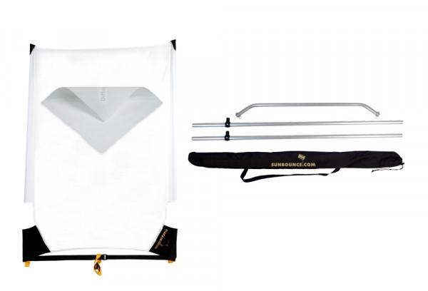 Sunbounce SUN-SWATTER KIT DIFFUSOR -2/3 neutral -Struktur: Diffusor -2/3 Blendenverlust, reduziert den Kontrast stark